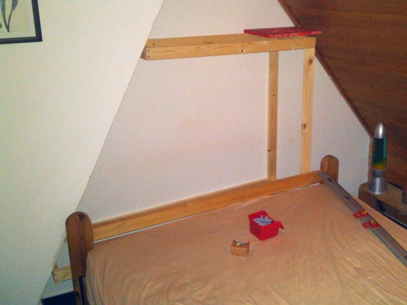 bett inkl gepolsterter r ckwand. Black Bedroom Furniture Sets. Home Design Ideas